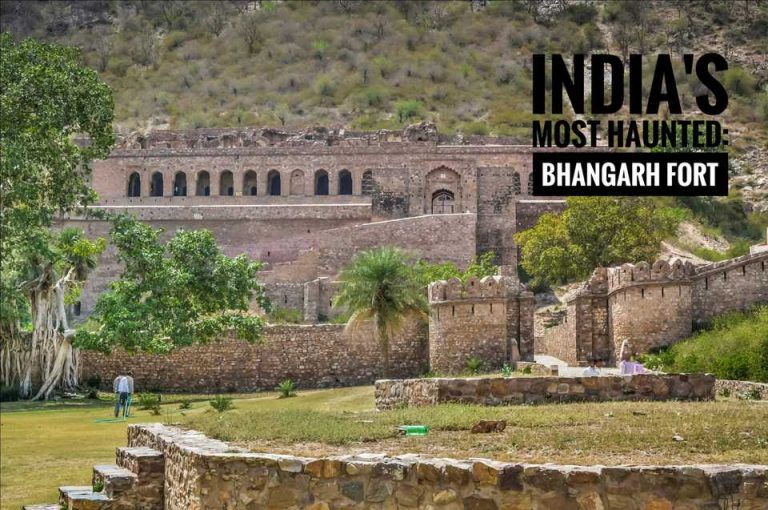 Story Behind India's Legally Haunted Place, Bhangarh Fort.
