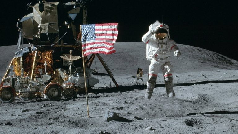 Was the first step on the Moon, a hoax?