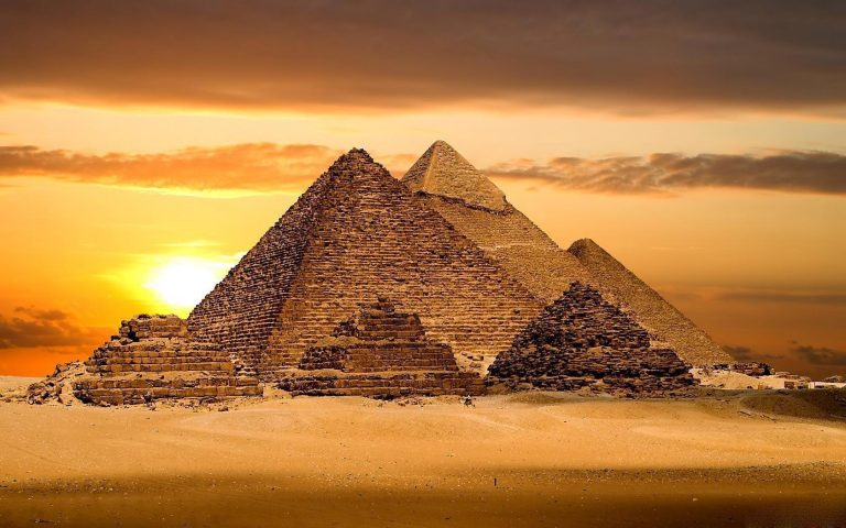 Most Plausible Theories for the Construction of the Pyramids of Giza