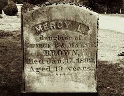 Mercy Brown a Vampire in 19th Century?