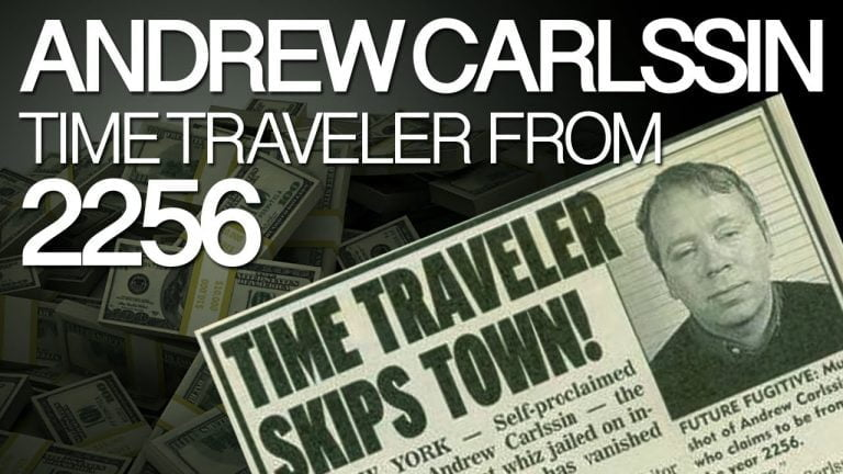 Andrew Carlssin: From an insider trader to a time traveler