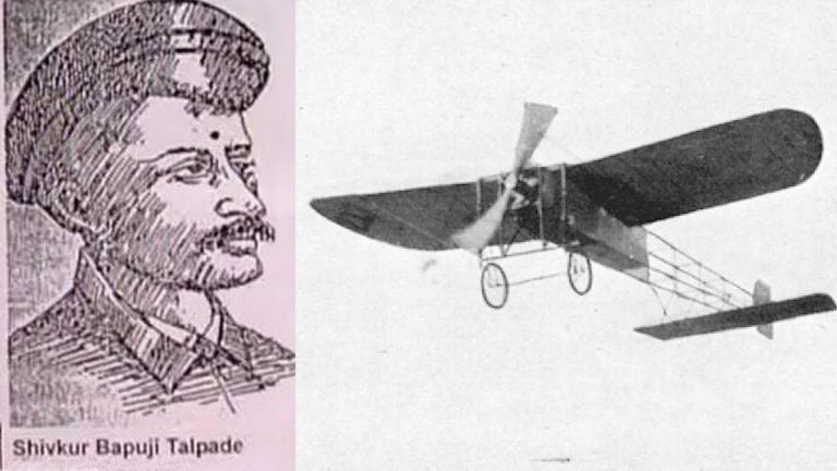 Shivar Talpade invented Airplane before the Wright Brothers?