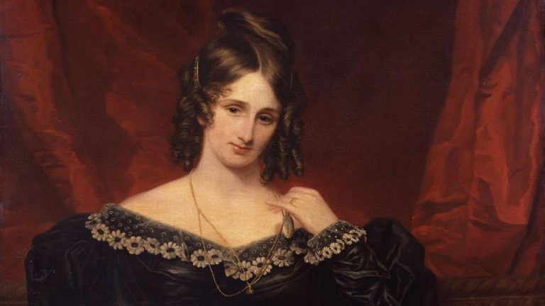 Mary Shelley the author of 'Frankenstein'?