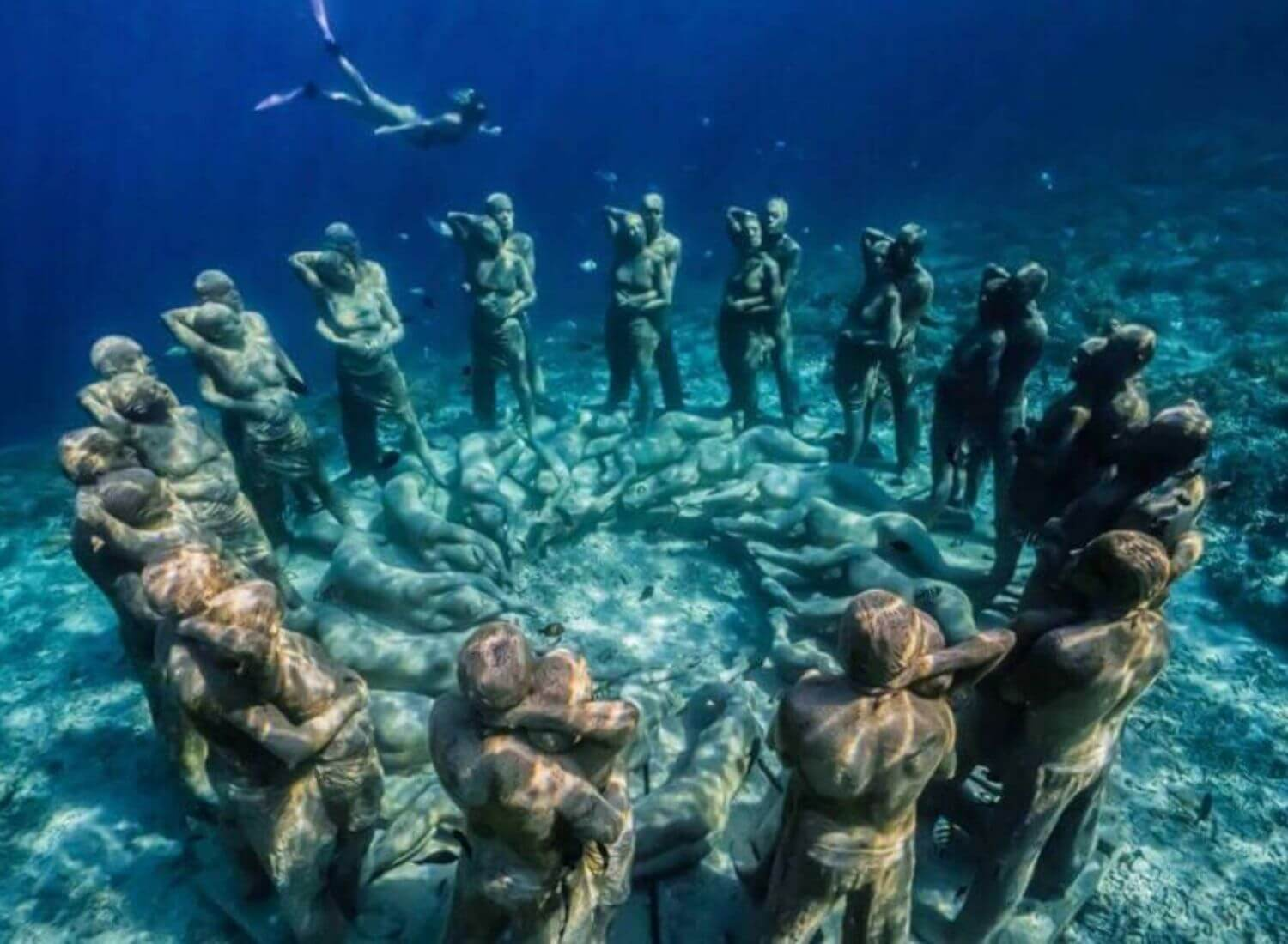 Deep Blue Mystery In The Hearts Of Indonesia: The Underwater Temple Garden