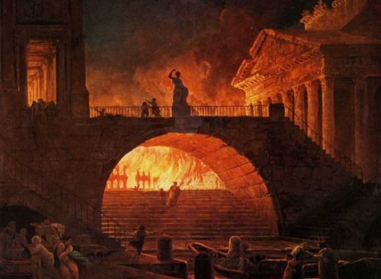 Emperor Nero Or The Blistering Summer Heat- What Set Rome Ablaze?