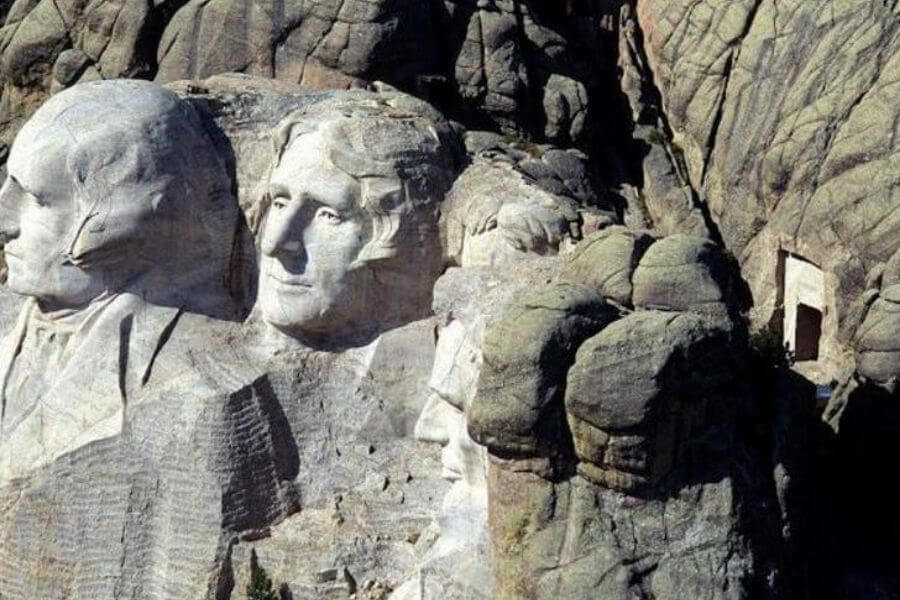 The Secret Chamber In Mount Rushmore