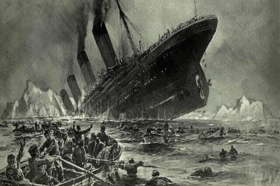 A planned sinking