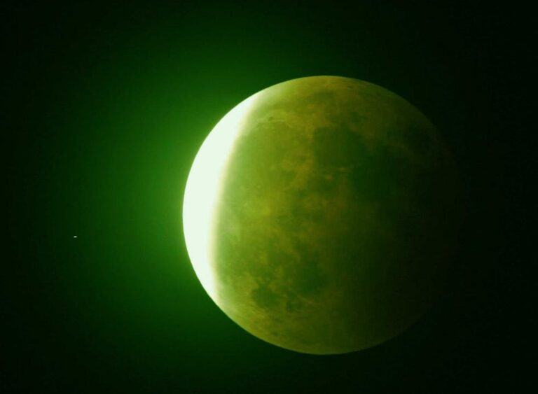 The Green Moon: A Cosmic Event Or A Hoax?