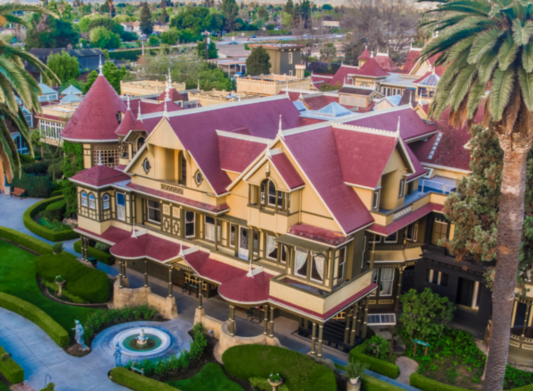 Is Winchester House the strangest house in America?