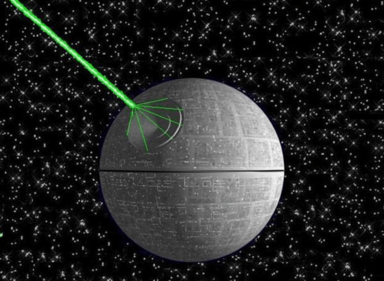 Iapetus: Natural Satellite or An Alien Death Star?