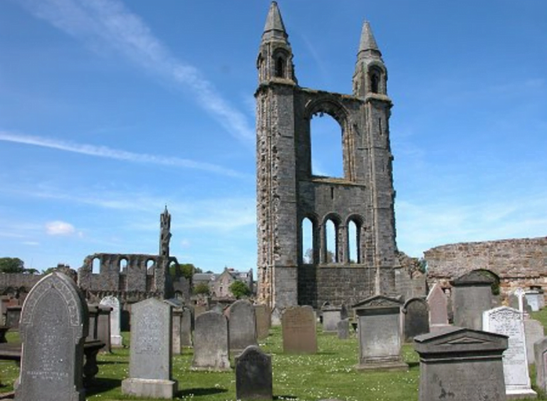 The Haunted Ruins of St Andrews Cathedral